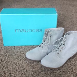 Maurice's Canvas Booties